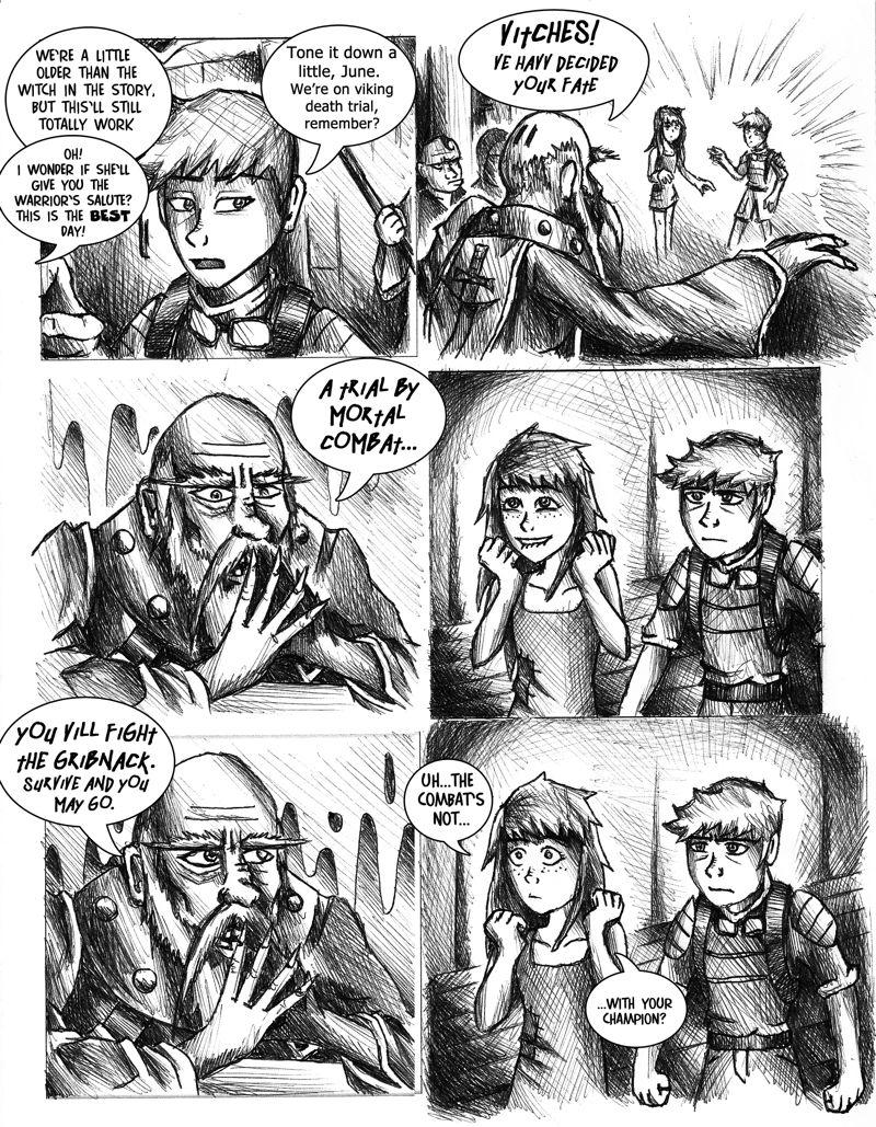 207. Viking Death Trial